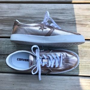CONVERSE Breakpoint Sneaker in Metallic Rose Gold